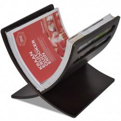 Sonata Дървена стойка за списания, цвят кафяв - Изтривалки и Поставки за чадъри