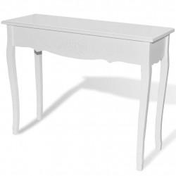 Sonata Конзолна маса, бяла - Тоалетки
