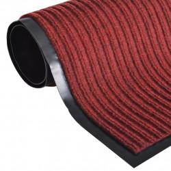 Изтривалка за входна врата от PVC, червена, 90 х 120 см - Изтривалки и Поставки за чадъри