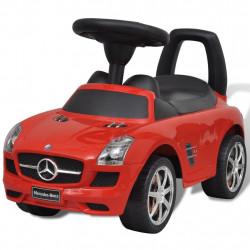 Детска кола за яздене Mercedes Benz, червена - Детски превозни средства