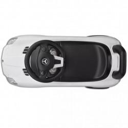 Детска кола за яздене Mercedes Benz, бяла - Детски превозни средства
