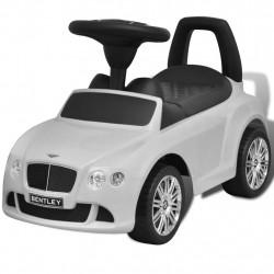 Детска кола за яздене Bentley, бяла - Детски превозни средства