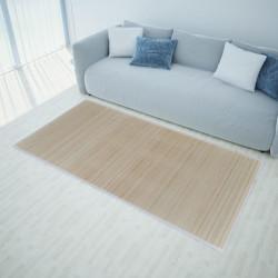 Правоъгълен естествен бамбуков килим 80 х 200 см - Килими, Мокети и Подложки