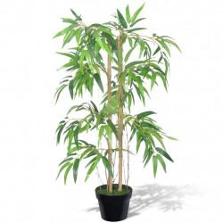 Изкуствено бамбуково дърво в саксия 90 см - Изкуствени цветя