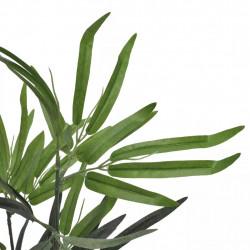 Изкуствено бамбуково дърво в саксия 80 см - Изкуствени цветя