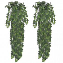 Изкуствен бръшлянов храст 90 см, 2 броя - Изкуствени цветя