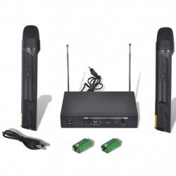 Приемник с 2 безжични VHF микрофона - Аксесоари за Всекидневна