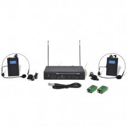 Приемник с 2 безжични VHF слушалки - Аксесоари за Всекидневна