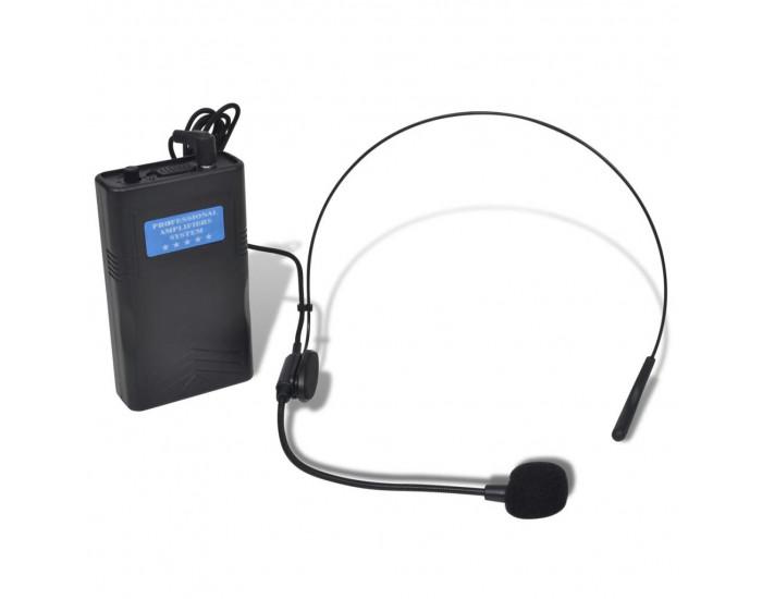 Приемник с 2 безжични VHF слушалки -