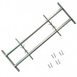 Регулируема решетка за прозорец с 2 напречни лоста, 700-1050 мм - Дограми и Комарници