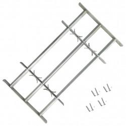 Регулируема решетка за прозорци с 3 напречни ребра, 500-650 мм - Дограми и Комарници