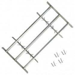 Регулируема решетка за прозорец с 3 напречни лоста, 700-1050 мм - Дограми и Комарници