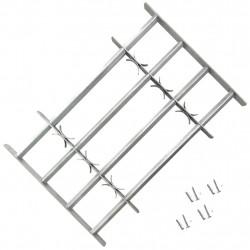 Регулируема решетка за прозорци с 4 напречни ребра, 500-650 мм - Дограми и Комарници