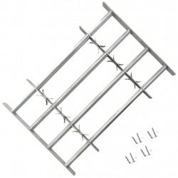 Регулируема решетка за прозорец с 4 напречни лоста, 700-1050 мм - Дограми и Комарници