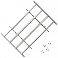 Регулируема решетка за прозорец с 4 напречни лоста, 1000-1500 мм - Дограми и Комарници