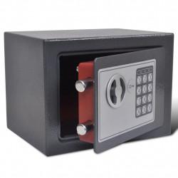 Електронен дигитален сейф 23 x 17 x 17 см - Мебели от метал