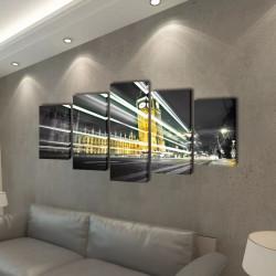 Декоративни панели за стена Лондон Биг Бен, 100 x 50 см - Картини, Плакати, Пъзели