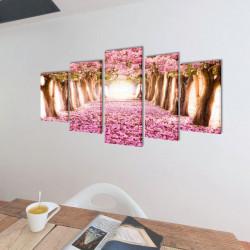Декоративни панели за стена Черешов цвят, 100 x 50 см - Картини, Плакати, Пъзели