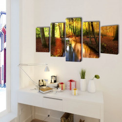 Декоративни панели за стена Гора, 100 x 50 см - Картини, Плакати, Пъзели