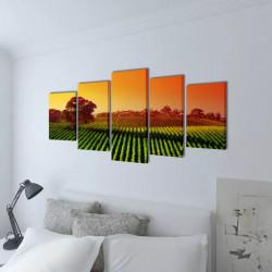 Декоративни панели за стена Полета, 100 x 50 см - Картини, Плакати, Пъзели