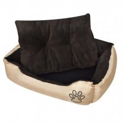 Sonata Топло кучешко легло с подплатена възглавница, размер S - Домашни любимци