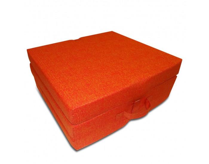 Sonata Матрак от три части, дунапрен, 190 x 70 x 9 см, оранжев -