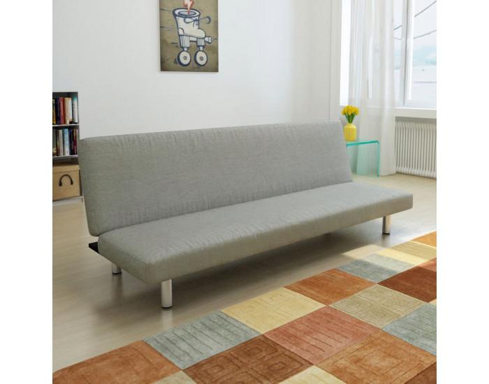 Sonata Разтегателен диван, сив, полиестер -