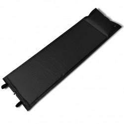 Черна, самонадуваща се постелка,185 x 55 x 3 cм, (единична) - Аксесоари за пътуване