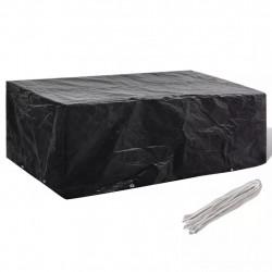 Покривало за градински мебели, 8 капси, 200 x 160 x 70 см - Аксесоари за градината