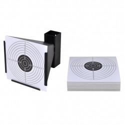 Фуниен държач за мишени + 100 хартиени мишени - Спортна стрелба