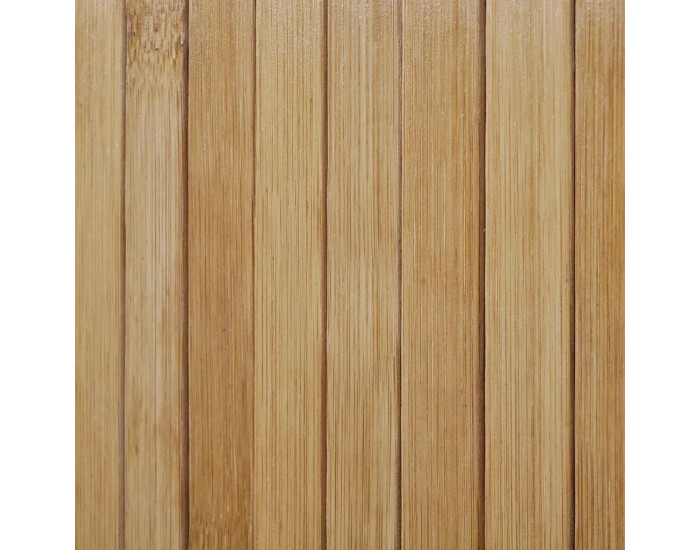Sonata Параван за стая, бамбук, цвят натурален, 250x195 см -