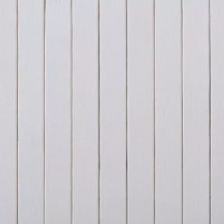Sonata Параван за стая, бамбук, бял, 250x195 см - Аксесоари за Всекидневна