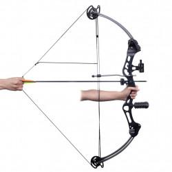Съставен лък за възрастни с аксесоари и стрели от фибростъкло - Спортна стрелба