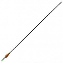 Стандартни стрели за лък 72 см х 0,6 см фибростъкло 12 бр. - Спортна стрелба