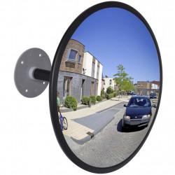 Изпъкнало пътно огледало акрил, черно, 30 см външно - Аксесоари