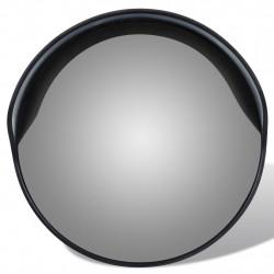 Изпъкнало пътно огледало PC пластмаса, черно 30 см външно - Аксесоари