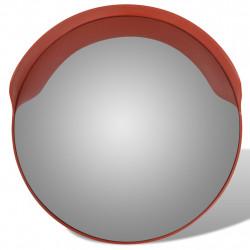 Изпъкнало пътно огледало PC пластмаса, оранжево, 60 см външно - Аксесоари