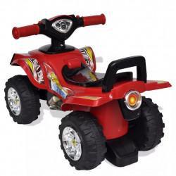 Детско червено АТВ със светлини и клаксон - Детски превозни средства