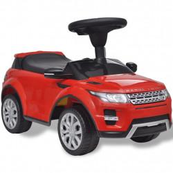 Електрическа кола Land Rover 348, червена, с мелодии - Детски превозни средства