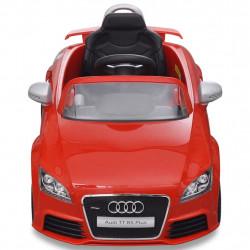 Audi TT RS детска кола с дистанционно управление червена - Детски превозни средства