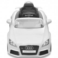 Audi TT RS детска кола с дистанционно управление, бяла - Детски превозни средства