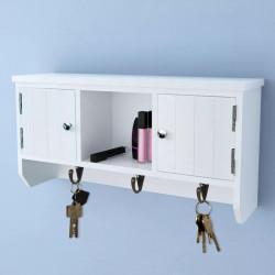 Sonata Стенен шкаф с вратички и дръжки за ключове и бижута - Скринове