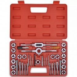 Комплект от 40 части метчици и плашки - Инструменти