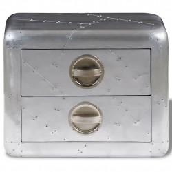 Sonata Авиаторна помощна маса с 2 чекмеджета, стил ретро самолет - Сравняване на продукти