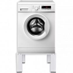 Бяла стойка за пералня - Шкафове за Баня