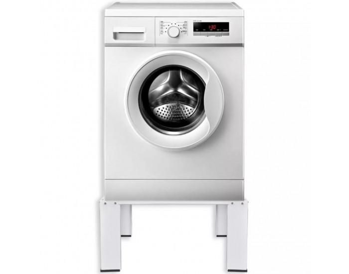 Бяла стойка за пералня -