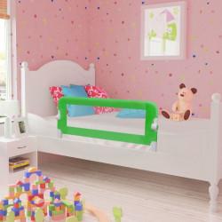 Ограничител за бебешко легло, 102 x 42 см, зелен - Мебели за детска стая