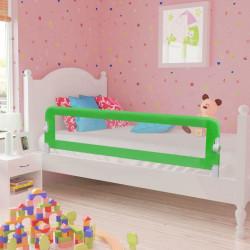 Ограничител за бебешко легло, 150 x 42 см, зелен - Мебели за детска стая
