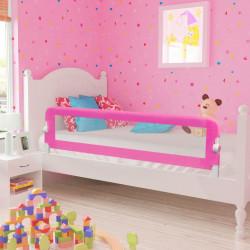 Sonata Ограничител за бебешко легло, 150x42 см, розов - Мебели за детска стая