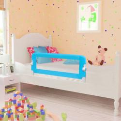 Ограничител за бебешко легло, 102 x 42 см, син - Мебели за детска стая